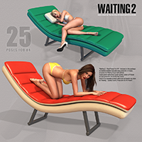Waiting 2 - Real Poses For V4 image 3