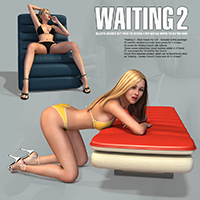 Waiting 2 - Real Poses For V4 image 4