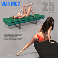 Waiting 2 - Real Poses For V4 image 7