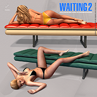 Waiting 2 - Real Poses For V4 image 8