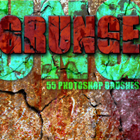 GRUNGE brushes 2D And/Or Merchant Resources Themed mystikel