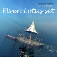 Elven Lotus set 3D Models 1971s