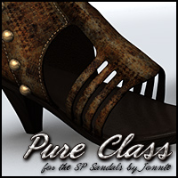 Pure Class for SP Sandals (2) Footwear Themed Sveva