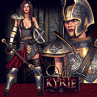 VaLKyrie 3D Figure Essentials 3D Models Val3dArt