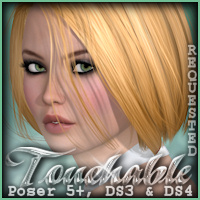Touchable Hr-096 3D Figure Assets 3D Models -Wolfie-