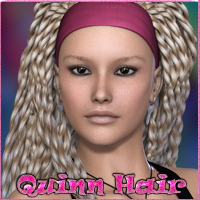 Quinn Hair V4-A4-G4 3D Figure Essentials nikisatez