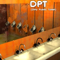 DPT (Dirty Public Toilet) 3D Models greenpots