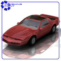 Firebird Sports Car (for Poser) 3D Models VanishingPoint