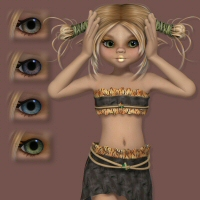 Molly 3D Figure Essentials 3DTubeMagic