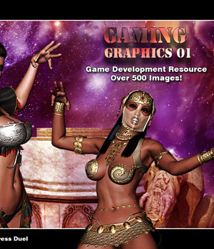 Game Graphics 01 Extended Licenses 2D Graphics 3D Models Darkworld