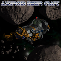 Space Asteroid Miner Props/Scenes/Architecture Themed Transportation Simon-3D