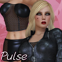 Pulse - Thinky Pinky 3D Figure Assets 3D Models kaleya
