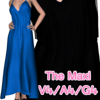 The Maxi V4-A4-G4 Clothing nikisatez