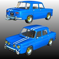 RENAULT 8 GORDINI Software Themed Transportation Nationale7