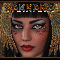 MDD Sakkara for V4.2 3D Figure Essentials Maddelirium