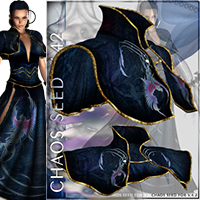 Chaos Seed Outfit & 11 Poses for V4 image 4