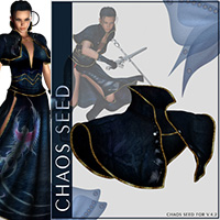 Chaos Seed Outfit & 11 Poses for V4 image 5