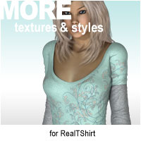 MORE Textures & Styles for RealTShirt Themed Clothing motif