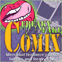 Freaky Fake Comix 2D Merchant Resources lilflame