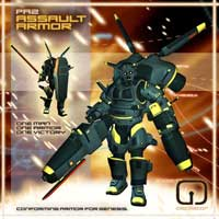 PA2 Personal Armor for Genesis Themed Clothing Software oscillator