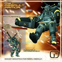 PA2 Personal Armor for Genesis image 2