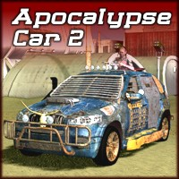 Apocalypse Car 2 3D Models Mike2010