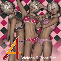 4ADZ V5 Pose Kit Set 1 3D Figure Essentials dzheng
