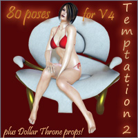 Temptation 2 3D Models 3D Figure Essentials darkvisionary