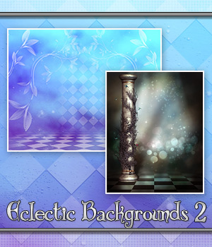 Eclectic Backgrounds 2 2D Graphics Bez