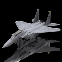 F 15E Strike Eagle (for Poser) 3D Models Digimation_ModelBank