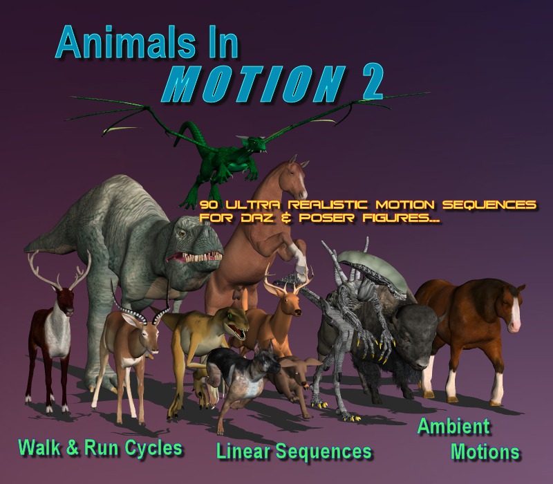 Animals in Motion 2