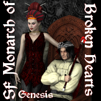 SF Monarch of Broken Hearts G 3D Figure Essentials SickleYield