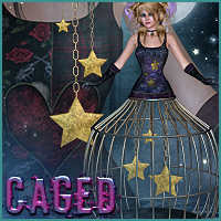 Caged for Imprisonment 3D Figure Assets Sveva