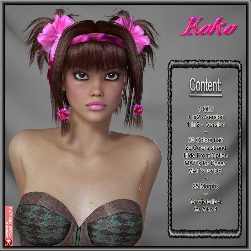 KoKo Hair for V4