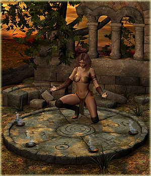 DM's Sacred Hill 3D Models 3D Figure Essentials Danie