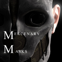 Mercenary Masks by RetroDevil