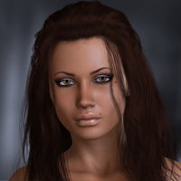 Elkie for V4 3D Figure Assets 3D Models OziChick
