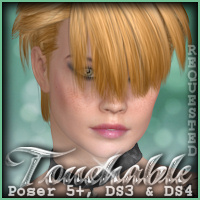 Touchable Hr-099 Hair -Wolfie-