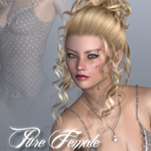 VH Pure Female Poses/Expressions Software Godin