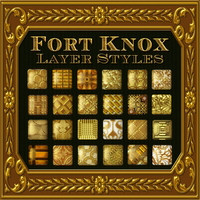 FORT KNOX Layer Styles 2D 3D Models fractalartist01