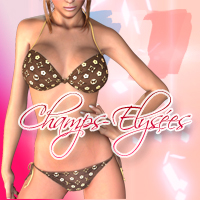 Champs-elysees for hongyu's bikini2 3D Figure Assets yumeka