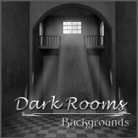 Dark Rooms 2D 3D Models -Melkor-