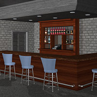 The Clubroom 3D Models Richabri