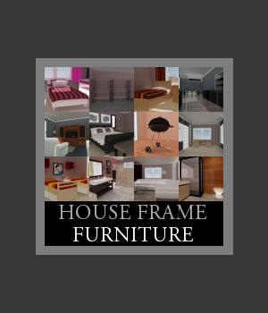 House Frame Furniture 3D Models TruForm