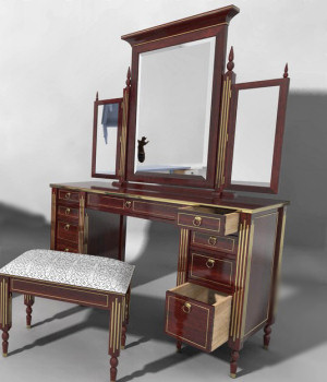 Furniture Set Two, Dressing Table 3D Models DreamlandModels