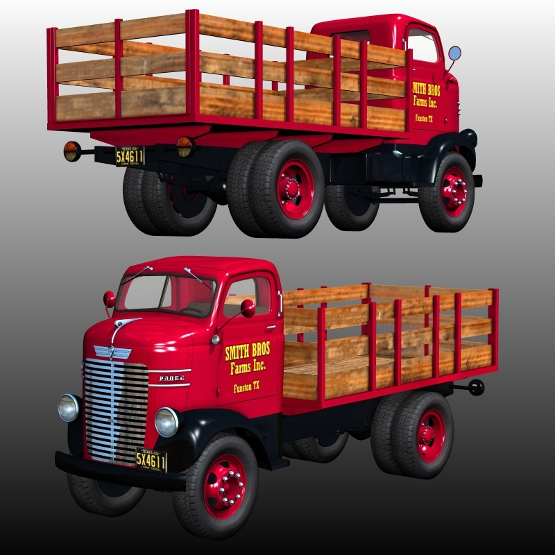 DODGE CABOVER STAKE BED 1939-1947(for Poser)