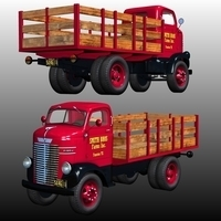 DODGE CABOVER STAKE BED 1939-1947(for Poser) by Nationale7