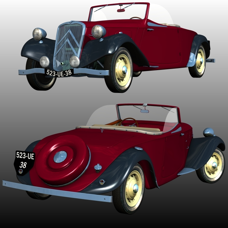 CITROEN 11 CABRIOLET 1934-1939 ( for Poser )
