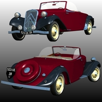 CITROEN 11 CABRIOLET 1934-1939 ( for Poser ) Transportation Software Nationale7