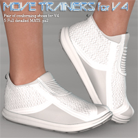 Move Trainers V4 3D Figure Essentials nikisatez